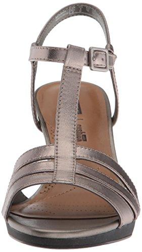 Clarks Womens Adriel Tevis Plattform Tenn Läder