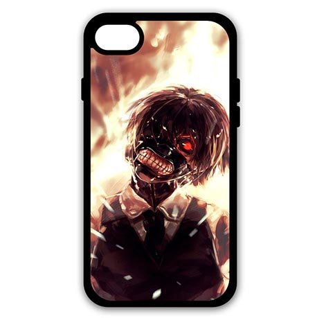 Coque iphone 7 - 4.7 pouce Screen Coque Cover Tokyo Ghoul Flexible Phone Coques
