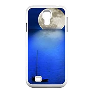Moon ZLB599020 Customized Phone Case for SamSung Galaxy S4 I9500, SamSung Galaxy S4 I9500 Case