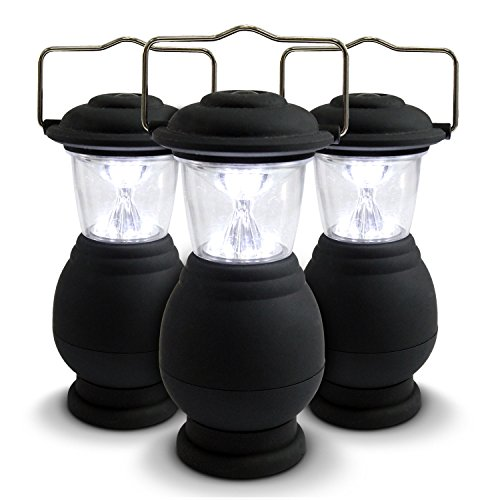 3 Pack Camping Lanterns Led Lamps Emergency Lights For