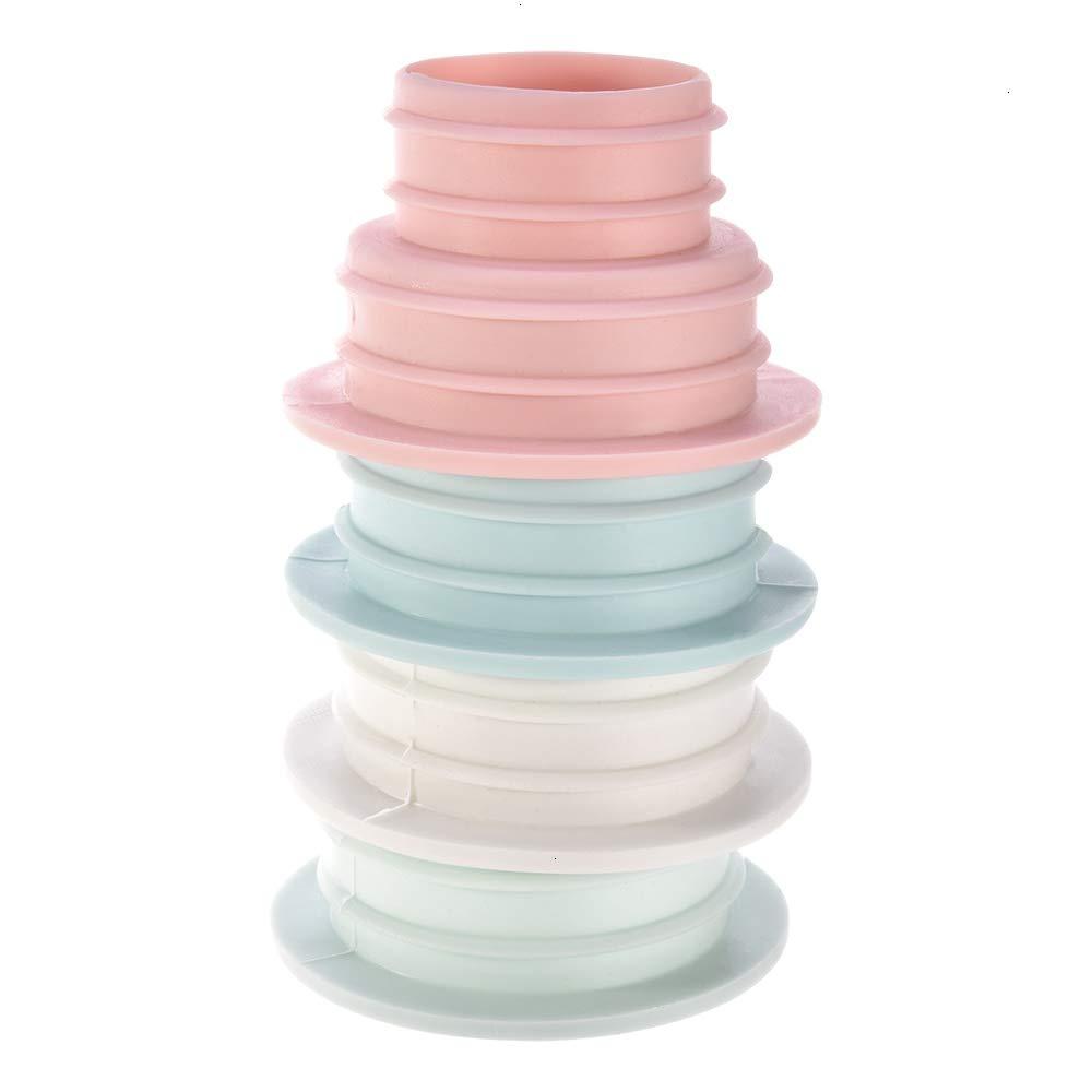 4pcs Drain Hose Deodorant Silicone Plug Silicone Deodorant Sealing Plug Kitchen Pipe Seal Ring Bathroom Kitchen Cleaning Tool Random Color Feeko Sewer Seal Ring