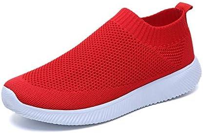 MZNSYDX Zapatos Casuales de Mujer Zapatillas de Moda Zapatos de ...
