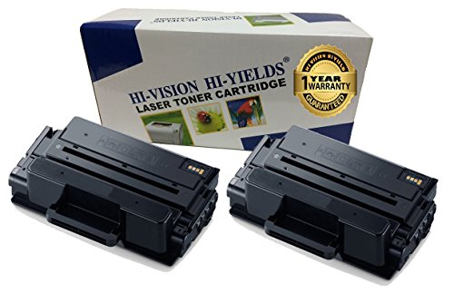 HI-VISION Compatible MLT-D203L / XAA High Yield Laser Toner Cartridge for Samsung ProXpress M3320ND, M3370FD, SL-M3820DW, M3870FW, M4020ND, M4070FR Printer (203L, Black 2 Pack)