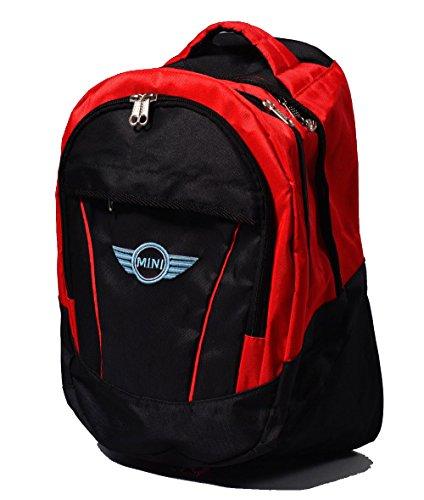 Logo Mini Backpack (Mini Cooper Logo Backpack Bag Unisex Leisure School Leisure Shoulder)