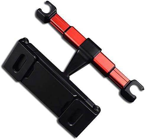 ヘッドレストマウント、自動車電話ホルダー、車の後部座席電話タブレットブラケット、リアヘッドレストタブレットブラケット,赤