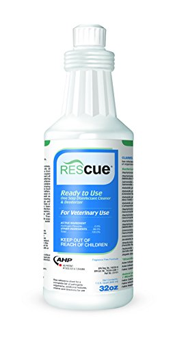Rescue RTU One-Step Disinfectant Cleaner & Deodorizer, 32 oz. Squeeze Bottle by Diversey