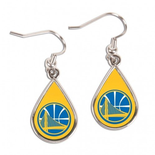 WinCraft NBA 98388014 Golden State Warriors Jewelry Carded Earrings ()