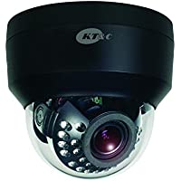 KEZ-C2DI28V12IRNB KT&C 2.8~12mm 1080p Indoor IR Day/Night Dome HD-TVI Security Camera 12VDC/24VAC - Black