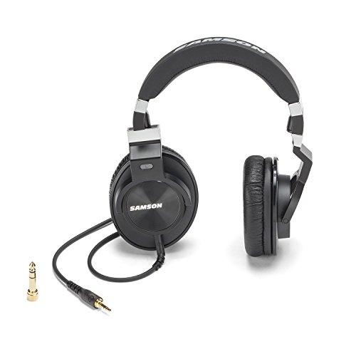 Pack Z55 (Samson Z55 Closed Back Over-Ear Professional Studio Reference Headphones)