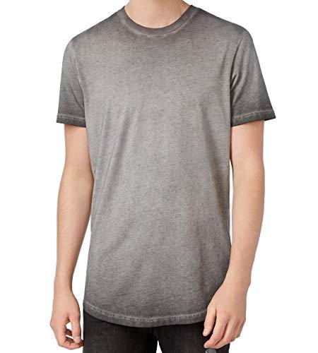 American Rag Mens Medium Ombre Crewneck Tee T-Shirt $25 Gray M