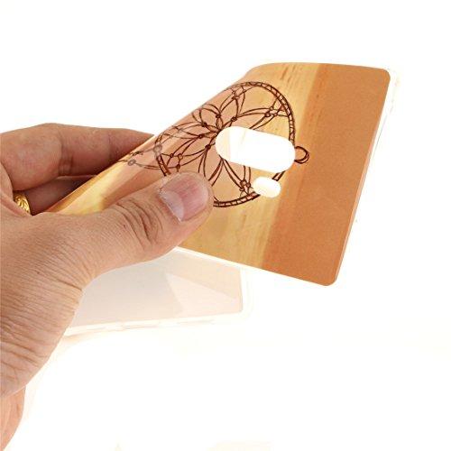 Motif Couverture Antichoc Téléphone Protection En Souple Hozor Cas Scratch Bord Dreamcatcher Xiaomi Cas Mix De Silicone TPU De Transparent Arrière Mi Peint Slim Fit Résistant v6Cq4I