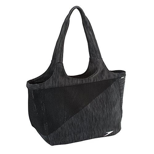 Speedo Hyla Tote, Black/Grey, One Size -