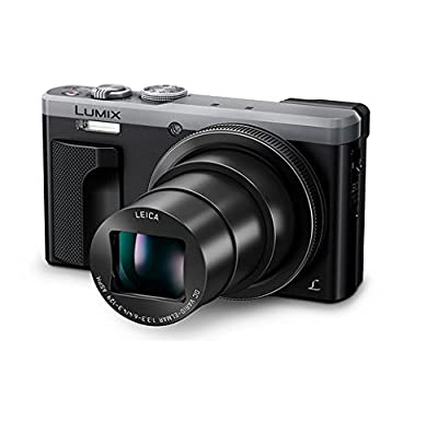 """~Labor Day Sale ~ Panasonic LUMIX 4K ZS60 Point and Shoot Camera, 30X LEICA DC Vario-ELMAR Lens F3.3-6.4, 18 Mp, DMC-ZS60S with """"CASE"""" (Certified Refurbished) by Panasonic"""