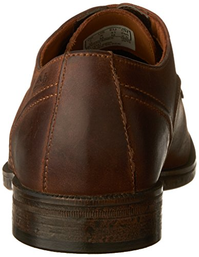 Clarks Mens Brocton Promenad Tan Läder