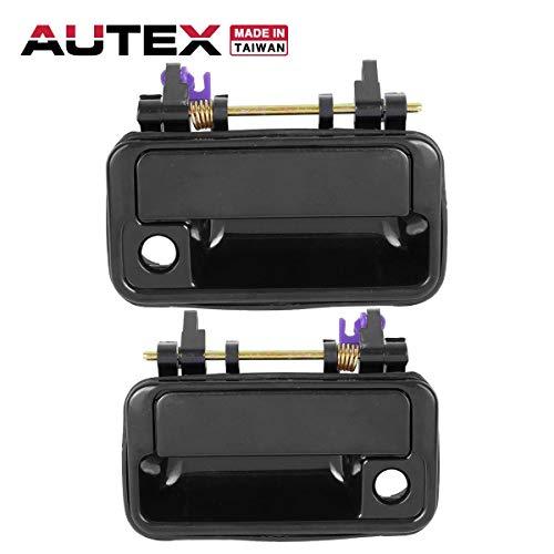 - AUTEX 2pcs Exterior Door Handles Front Left Right Driver Passenger Side Compatible with Geo Metro 1989 1990 1991 1992 1993 1994 Door Handles SZ1310102 SZ1311102