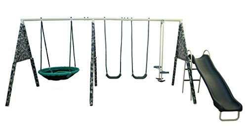 XDP Recreation 'Camo Commander Swing Set