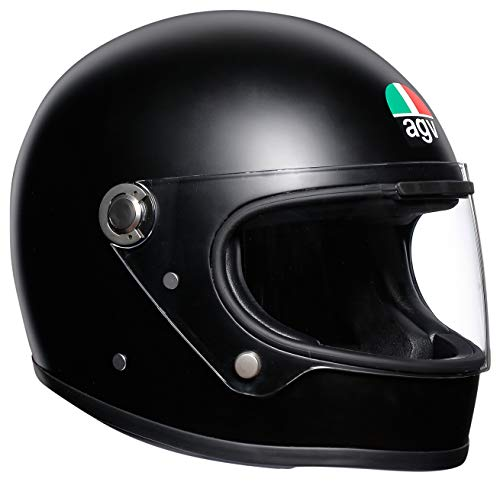 (AGV Unisex-Adult Full Face X3000 Motorcycle Helmet Matte Black)