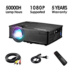 Why choose our Phonect movie projector? 1. Upgraded 2400 Lumens LED bubbles will provide you a better watching experience. You can even use it in daylight when you close the curtains. 2. The mini-sized projector makes it convenient to carry a...