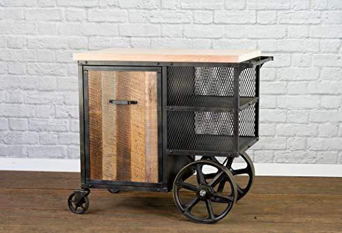 - Kitchen Island, Kitchen Island Cart, Modern Bar Cart, Kitchen Preparation Work Station. Service Cart