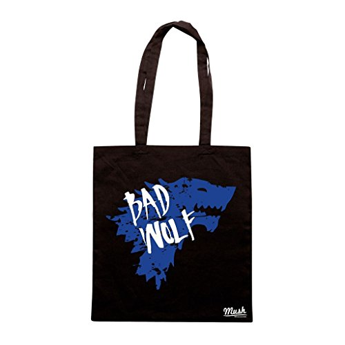 Borsa Bad Wolf Game Of Thrones - Nera - Film by Mush Dress Your Style
