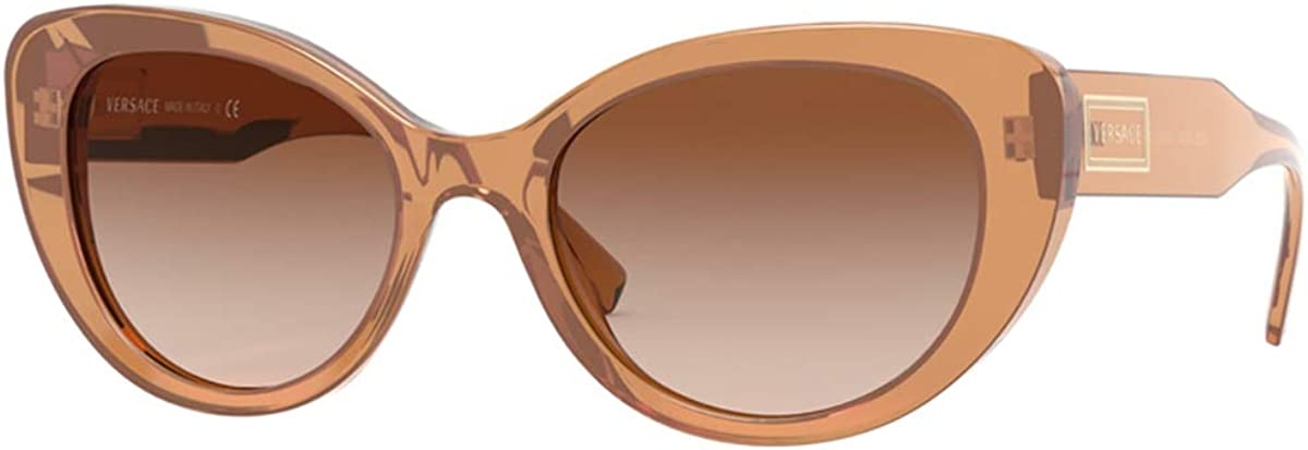 Versace Sonnenbrille (VE4378) Transparent Brown