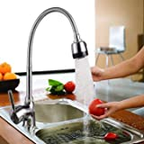 Faucets Kitchen Sink Faucets - Kitchen 360° Swivel Spout Single Handle Sink Faucet Pull Down Spray Mixer Tap - 1x Kitchen Faucet (Not include hose)