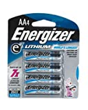 Energizer Ultimate Lithium AA Batteries 4 Ea (Pack of 3)