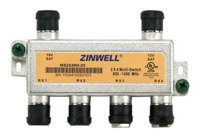Zinwell MS2X4RO-03 2x4 Multi-Switch