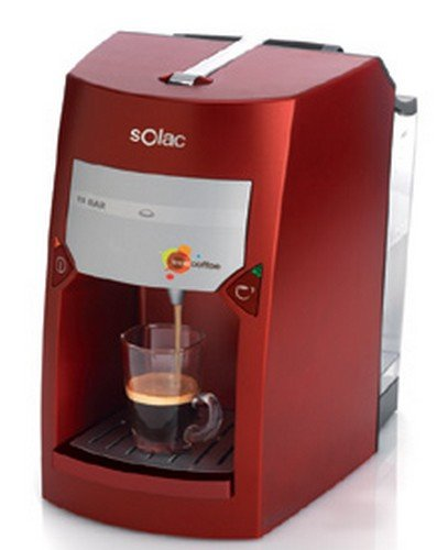 Solac CE4411, Rojo, 870/1030 W, 220-240 MB/s, 50 Hz - Máquina de café