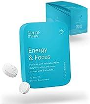 Neuro Mints Nootropic Energy Mints | Caffeine + L-theanine + B Vitamins | Sugar Free + Gluten Free + Vegan (1