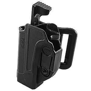 Orpaz Glock 19 Holster Fits Also Glock 17 Glock 22 Glock 23 Glock 26 Glock 27 Glock 34 & More