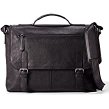 Leather Architect Men's 100% Leather Laptop Bag