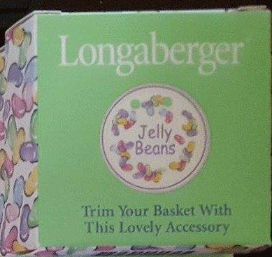 Longaberger Jelly Beans Tie-on - Longaberger Tie