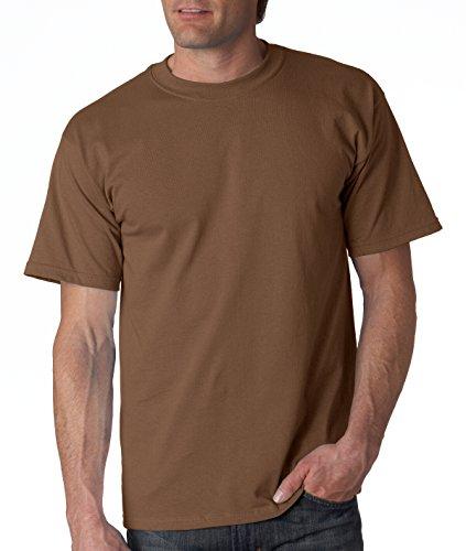 Gildan Men's Ultra Cotton Crewneck T-Shirt, Chestnut, Small