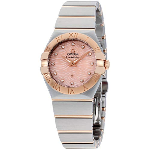 Omega-Womens-Constellation-Swiss-Quartz-Watch-with-Stainless-Steel-Strap-Two-Tone-15-Model-12320276057004