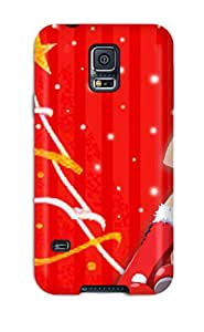 Flexible Tpu Back Case Cover For Galaxy S5 - Shakugan No Shana