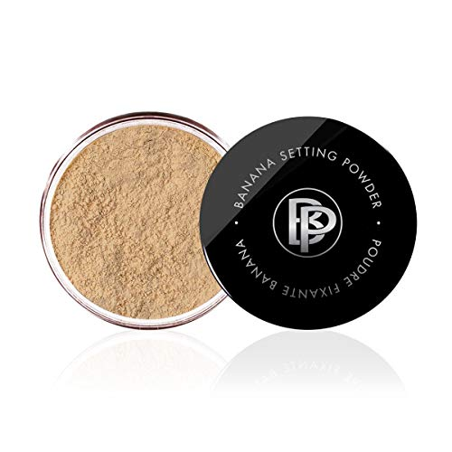 Bellapierre Banana Setting Powder   Lightweight Color-Correcting Powder with All Day Makeup Protection   Eliminates…