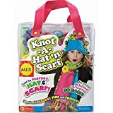 : ALEX Toys Craft Knot A Lot Scarf and Hat Kit