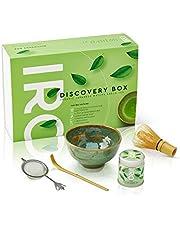 IRO Discovery Box Japanse BIO Matcha thee van superieure kwaliteit, een doos voor het Matcha theeritueel, bevat alles om een perfecte Matcha thee te bereiden