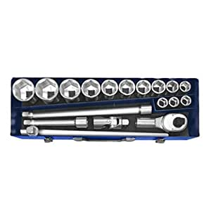 Expert E194683 Socket 18 Piece Set