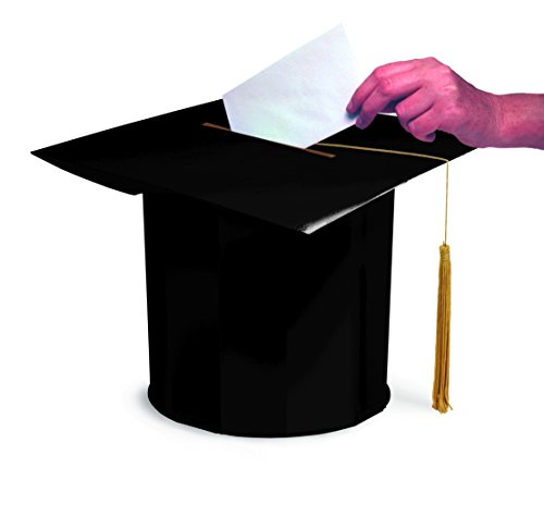 Creative Converting Graduation Cap Shaped Card Box from Creative Converting
