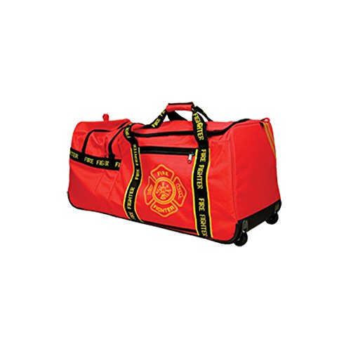 (2 PACK - Fire Fighters Large Gear Bag with Wheels)
