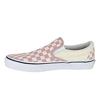 Vans Mono Classic Slip-on Checkerboard Zephyr Pink Sneakers Shoes 8.5 Mens10 Womens 2