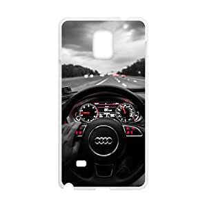 Samsung Galaxy S4 Phone Case White Audi UKT8622127