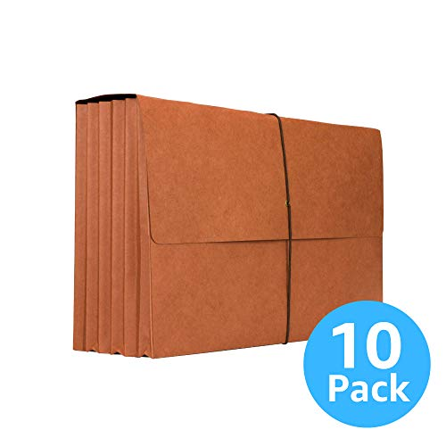 Accordion Wallet - Legal Size Files and Documents with 5¼
