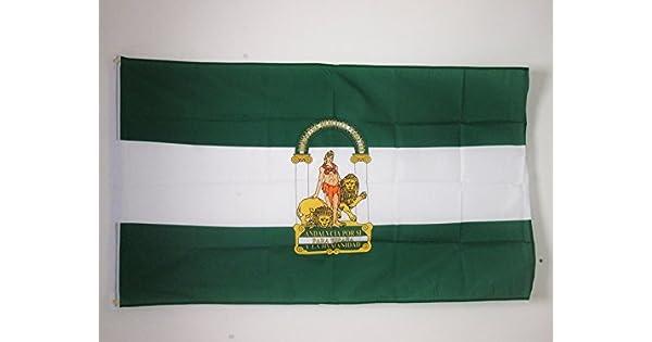 Amazon.com: Bandera de Andalucía 3 x 5 – Spanish Región de ...