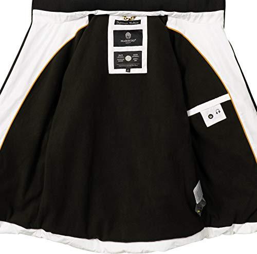Large Blouson Marikoo Blanc Femme Blouson Marikoo pqXXxvE7wf
