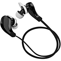 Hashub Goods RQ5 Wireless Bluetooth Sport Headphones with Microphone, Black