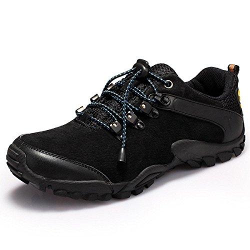 Casuales Deportes Al Aire Libre De Primavera Y Otoño De Los Hombres Zapatos Para Correr De Varios Tamaños De Varios Tamaños Black