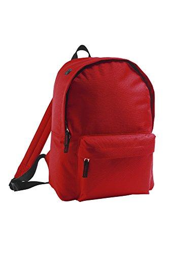 Bolsa viaje Mochila libre viaje rojo de y aire en día negro Básica de wXpXt